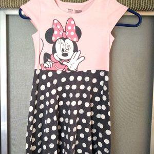 Girls Minnie Mouse Recess Dress 6X